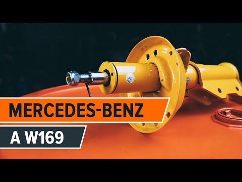Wie MERCEDES-BENZ A W169 Stoßdämpfer vorne wechseln TUTORIAL | AUTODOC
