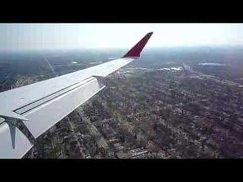 Minneapolis (MSP) Landing in Bombardier CRJ900