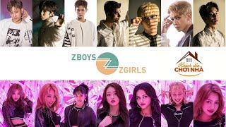 """Z-Boys và Z-Girls hát live """"My Galaxy"""" tại Khách đến chơi nhà 30.3.2019"""