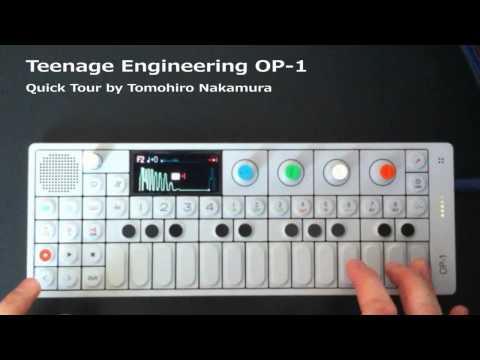 Teenage Engineering OP-1 Quick Tour