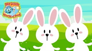 Hop Little Bunnies | Sing A Long | Action Song | Hop Hop Hop