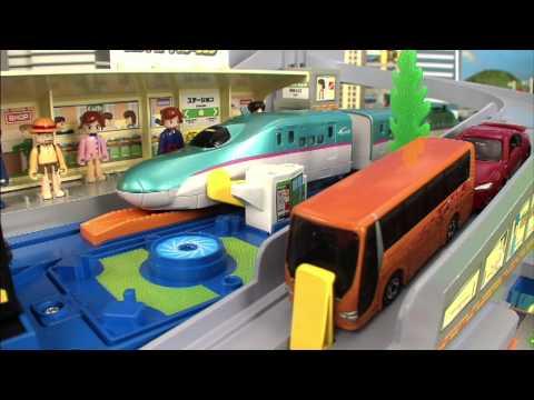 トミカ プラレール TOMICA PLARAIL VIDEO 2012 PART 2/4