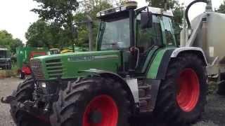 VERKAUFT ! SOLD ! gebr. Traktor Fendt 512 C, 1996, FH, 12 277h, Germany