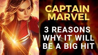 Captain Marvel Movie - 3 Reasons it's going to be a hit with MCU fans and general audiences