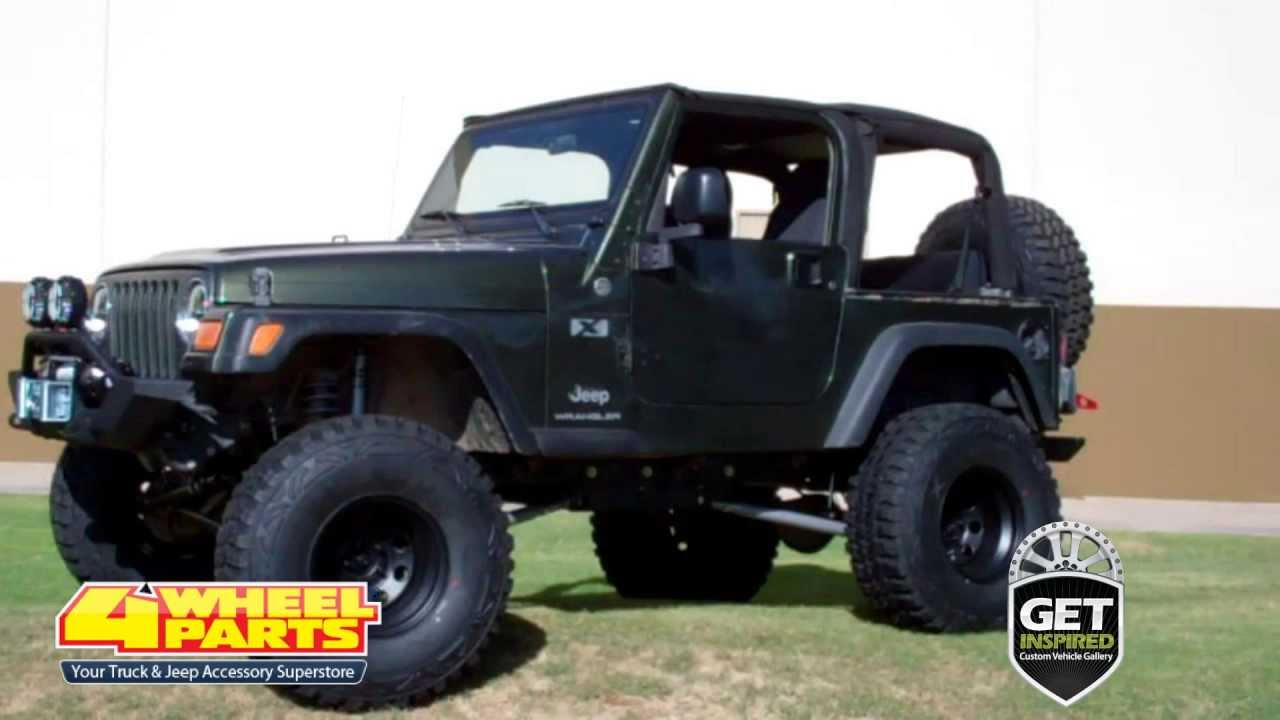Jeep Tj Parts Phoenix Az 4 Wheel Parts Youtube