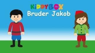 Bruder Jakob - Kinderlieder Zum Mitsingen - (KIDDYBOX.TV) Karaoke Lyric Songtext