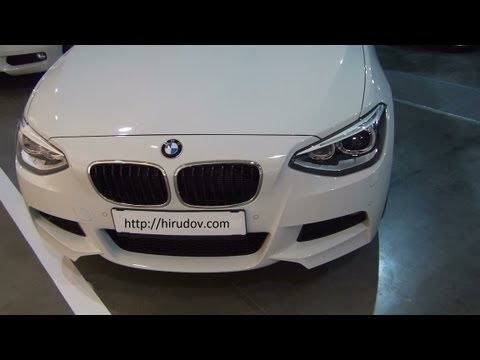 BMW 118d M Sport Exterior and Interior in Full HD 3D