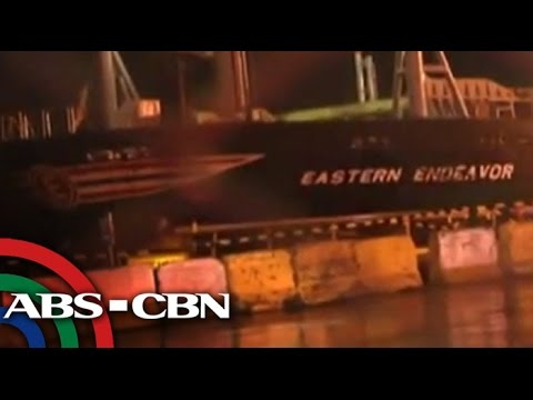 Ferry sinks off Manila Bay; 15 crew rescued