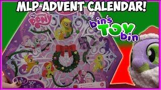 Opening the ENTIRE My Little Pony Advent Calendar From 2011!! | Bin's Toy Bin