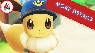 MORE DETAILS on Pokemon Let's Go Pikachu from Boss Masuda