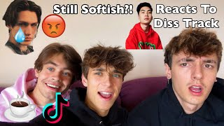 Lil Huddy Responds To DissTrack!! #TeaTok RiceGum Reacts To DissTrack!! TikTok Boy Tape Leaks!!
