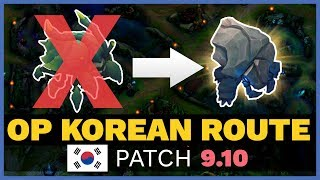 NEW Korean Krug Strategy CHANGES EVERYTHING in Patch 9.10! | Skill Capped