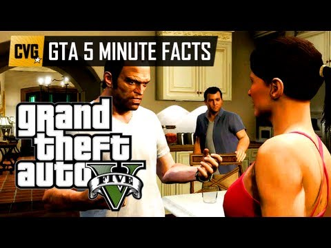 GTA V - GTA 5 minute facts - 18 GTA V characters detailed