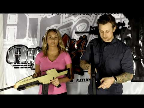 AirSplat OD - JLS XM8 Spring Airsoft Rifle Review Ep 19