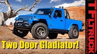 Could it Be? Here's Your Sneak Peek at a Potential 2 Door Jeep Gladiator!