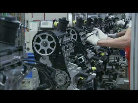 Audi Hungaria Motor Kft Production Gyor Hungary Youtube