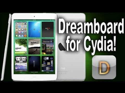 Dreamboard Review   Best Cydia Themes for 2013  Evasi0n Jailbreak