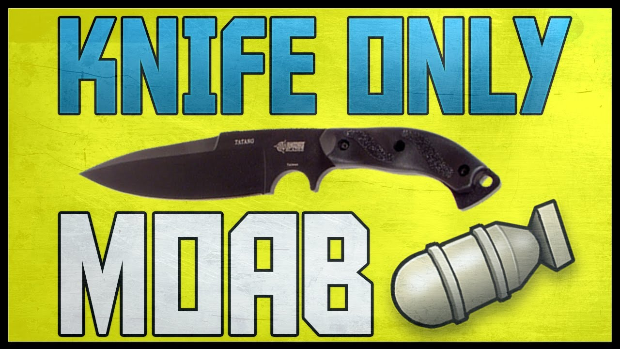 MW3 - KNIFE ONLY MOAB (TDM) - LE SIGARETTE - YouTube