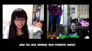 """""""What's your favorite anime?"""" 