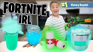 Fortnite Items IRL!! How to Make Chug Jug, Shield potion, and MORE!