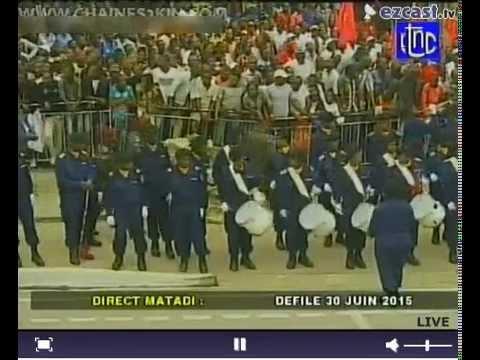 DEFILE 30 JUIN 2015 CONGO