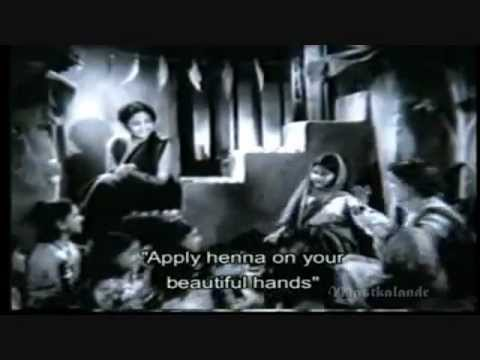 gore gore hathon mein mehandi rachake..Asha bhosale-Bharat Vyas...
