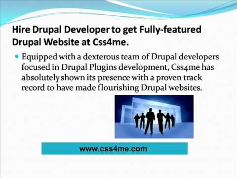 Css4me-A one stop solution for your drupal website development needs.