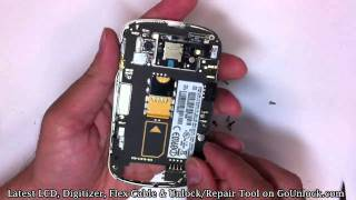 Blackberry Bold 9900 9930 Screen Repair Disassemble Take Apart Video Guide