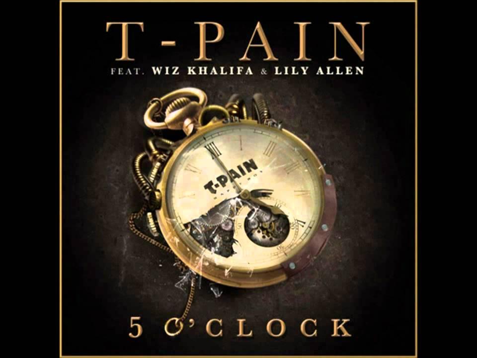 T-Pain - 5 O'Clock ft. Wiz Khalifa, Lily Allen instrumental - YouTube