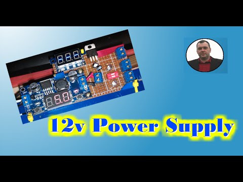 DIY Power Supply for Arduino university Project