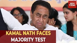 MP Political Crisis: Kamal Nath Chairs Emergency Meet Ahead Of Floor Test