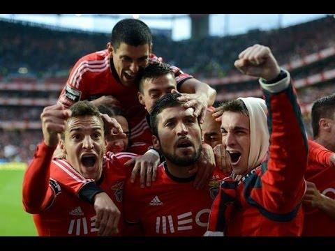 SL Benfica x FC Porto - 2013/14 (2-0) Golos com relato Antena 1