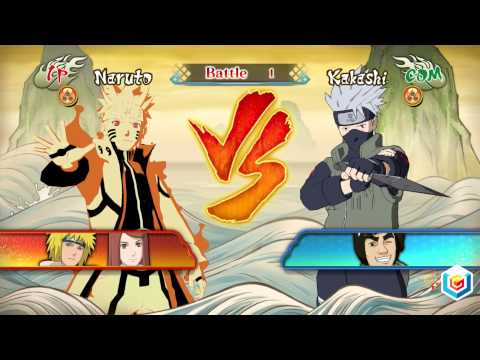 Naruto Shippuden Ultimate Ninja Storm Revolution Demo Gameplay Trailer (PlayStation 3/Xbox 360/PC)