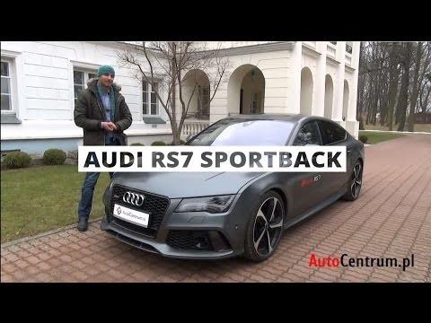 [PL/ENG Subs] Audi RS7 Sportback 4.0 TFSI 560 KM, 2013 - test AutoCentrum.pl