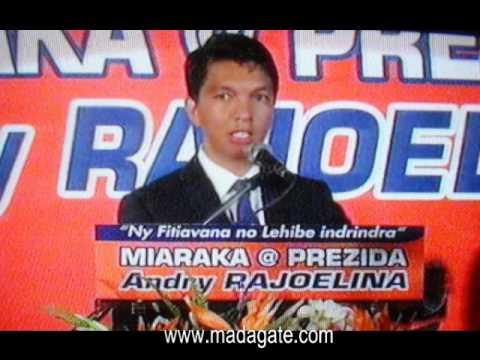 Andry Rajoelina. Carlton Anosy, 21.02.2014