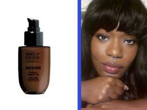 Review/Tutorial Makeup Forever Face And Body #46 - YouTube
