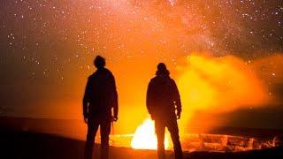 Adventure Hawaii - The Volcano and Stars -Cinematic Vlog [2] ( Nighttime Photography Gopro Hero 6)