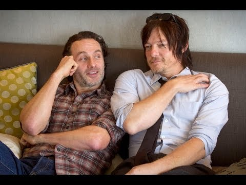 Andrew Lincoln & Norman Reedus talk about 'The Walking Dead' (Part 1)
