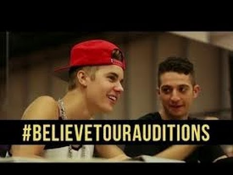 Justin Bieber Inside Auditions for the Biebs'
