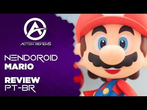 Nendoroid 473 - Mario Review (PT-BR)