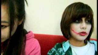 geisha VS joker  make up