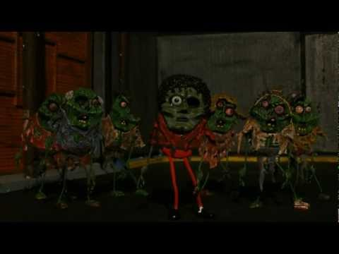 Michael Jackson Thriller Stop Motion Animation Tribute