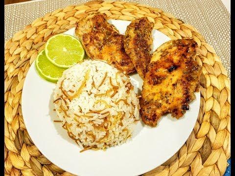 Chicken breasts with garlic & oregano -صدور الدجاج بالزعتر و الثوم و الليمون -The Bite of Delight thumbnail