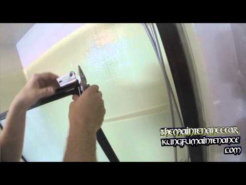 Bad Bearings How To Replace Tub Shower Door Roller Wheels Hard To Roll Maintenance Repair Video
