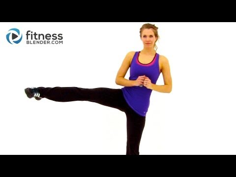 At Home High Intensity Interval Training - Cardio HIIT Workout with Fitness Blender