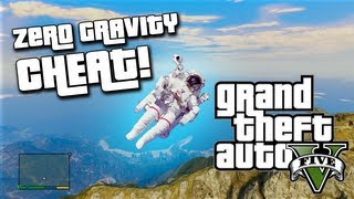 GTA 5 Cheats - Moon Gravity! (NEW GTA V Cheat Codes)