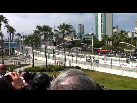 Grand Prix of Long Beach 2011 - Sebastian Bourdais crash indycar