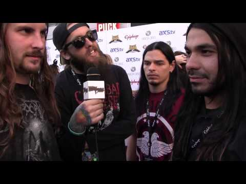 Suicide Silence - 2013 Revolver Golden Gods Interview