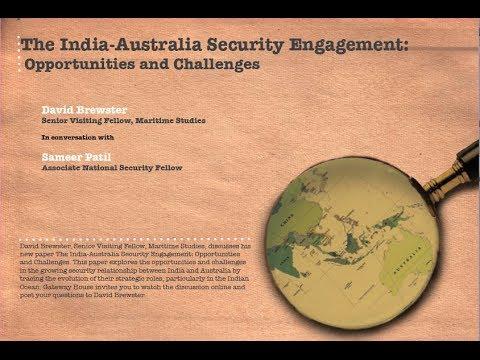 India-Australia Maritime Security Engagement