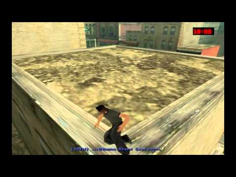Grand Theft Auto San Andreas CLEO Parkourfreerun Mod HD